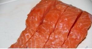 рыба в разрезе