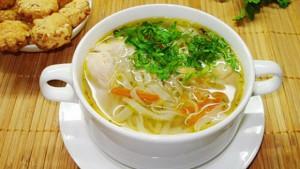 Суп с лапш