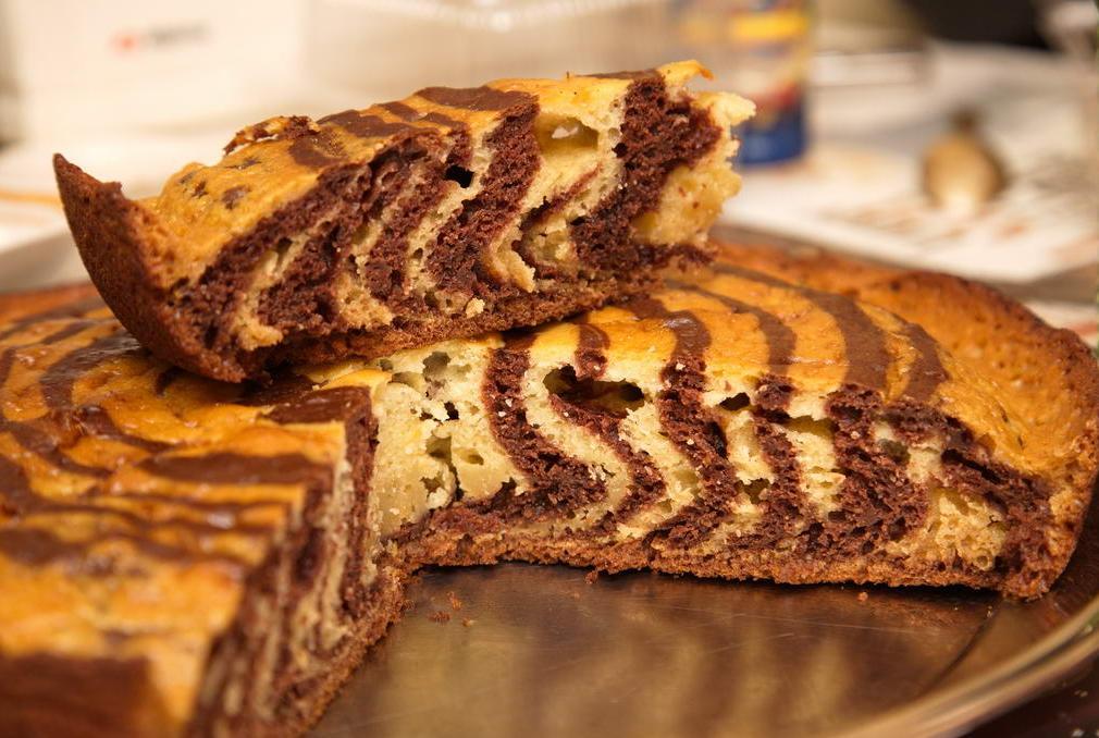 собраны лучшие полосатый пирог рецепт с фото раз прикладывала