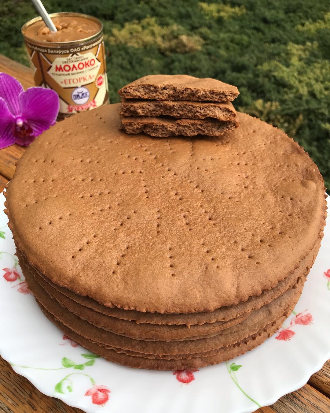 коржи для торта рецепт с фото пошагово при