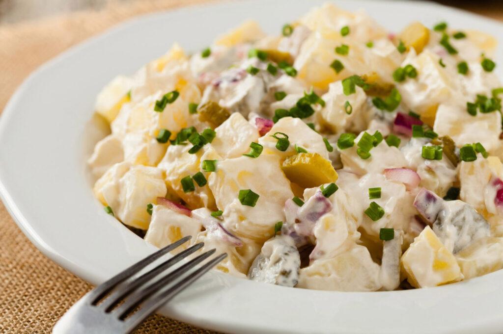 Картофельный салат немецкий классический рецепт