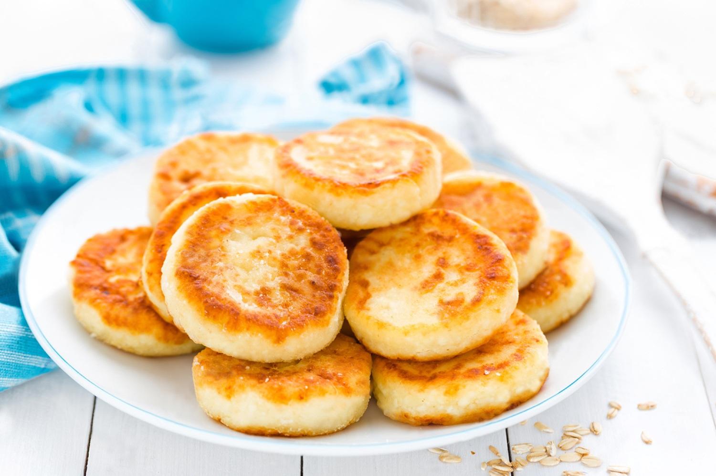 Сырники с манкой и творогом рецепт на сковороде как в садике