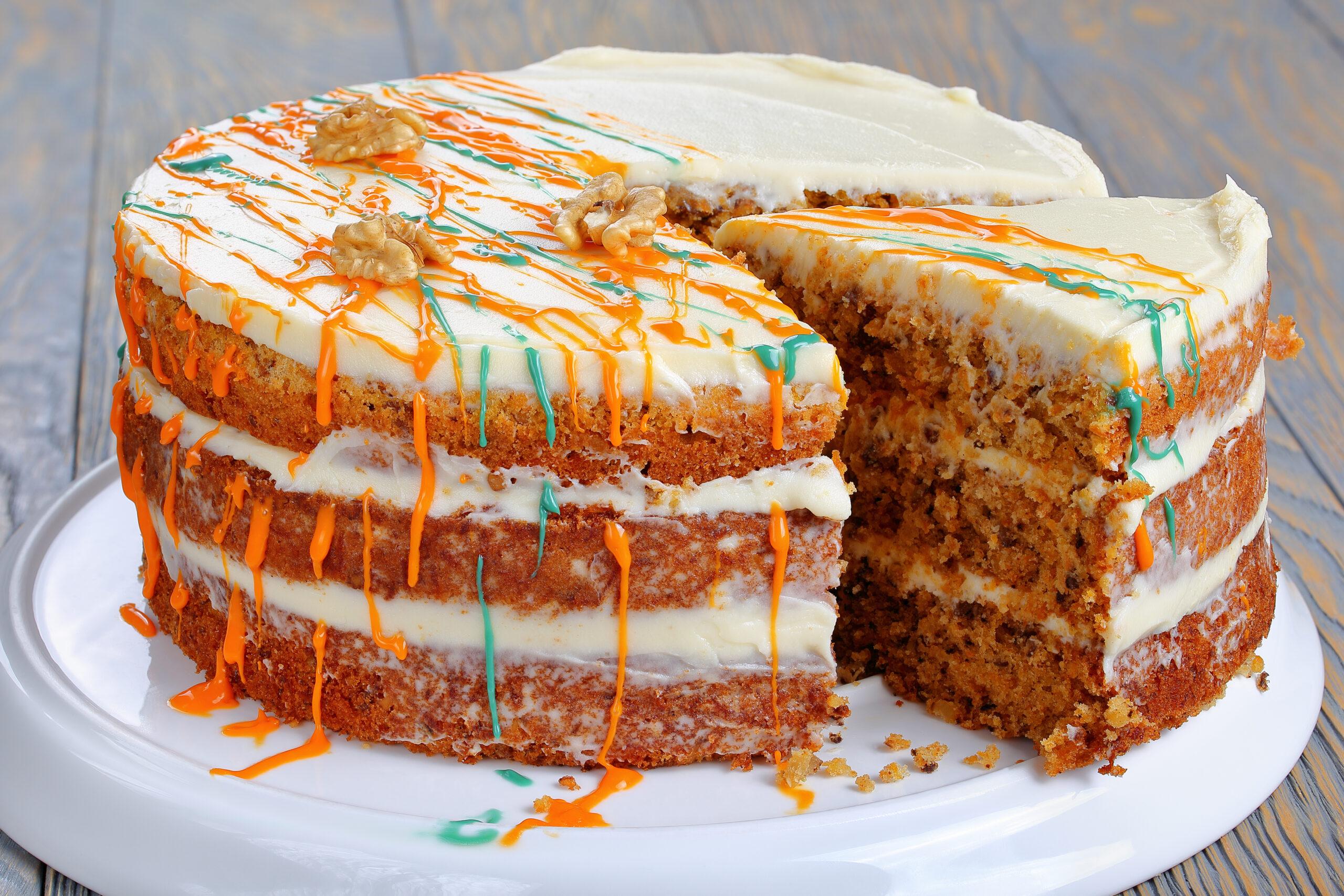 Морковный торт рецепт классический пошаговый рецепт