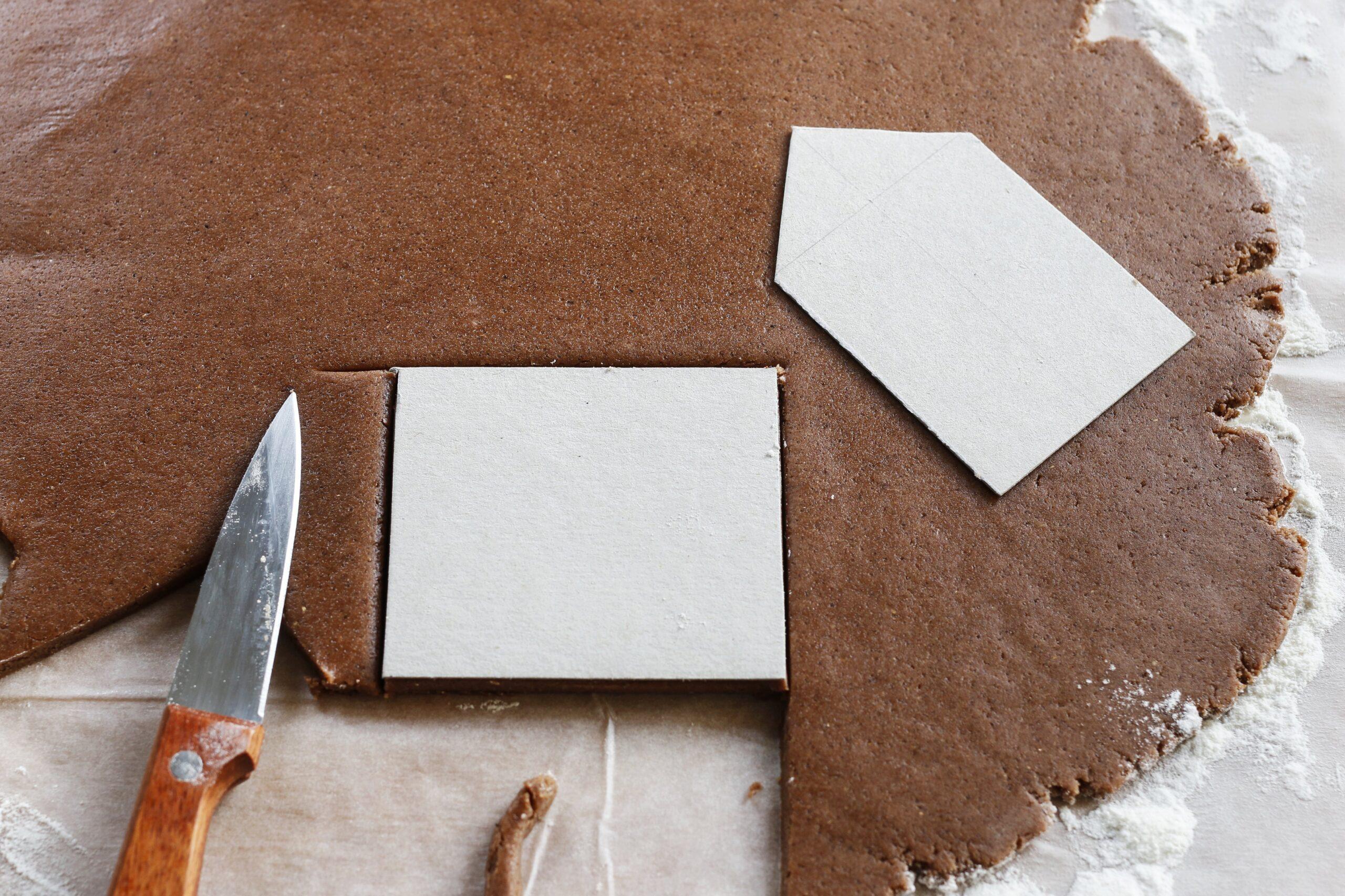 Тесто для пряничного домика