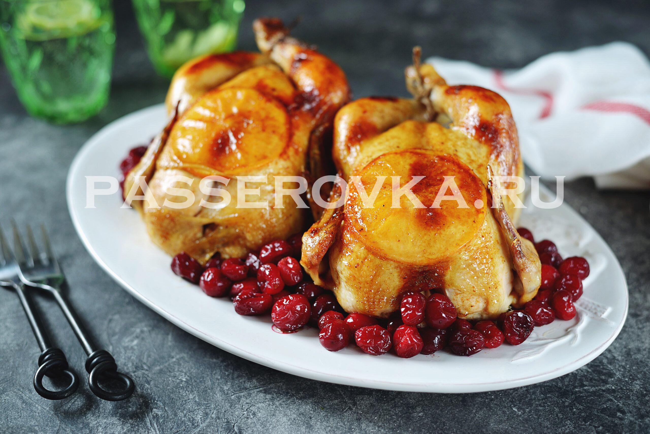 Цыпленок в духовке целиком рецепт