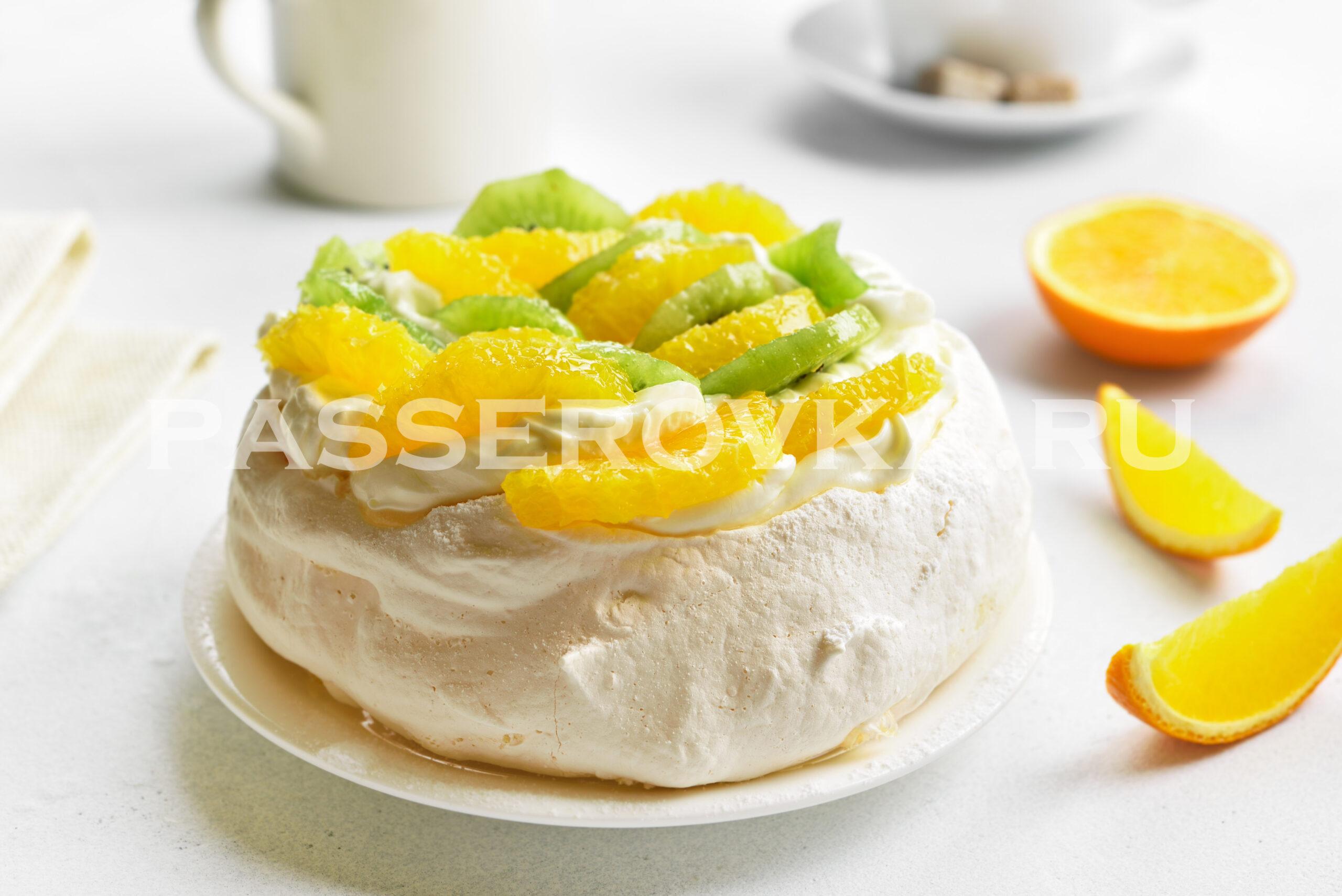 Павлова десерт рецепт классический