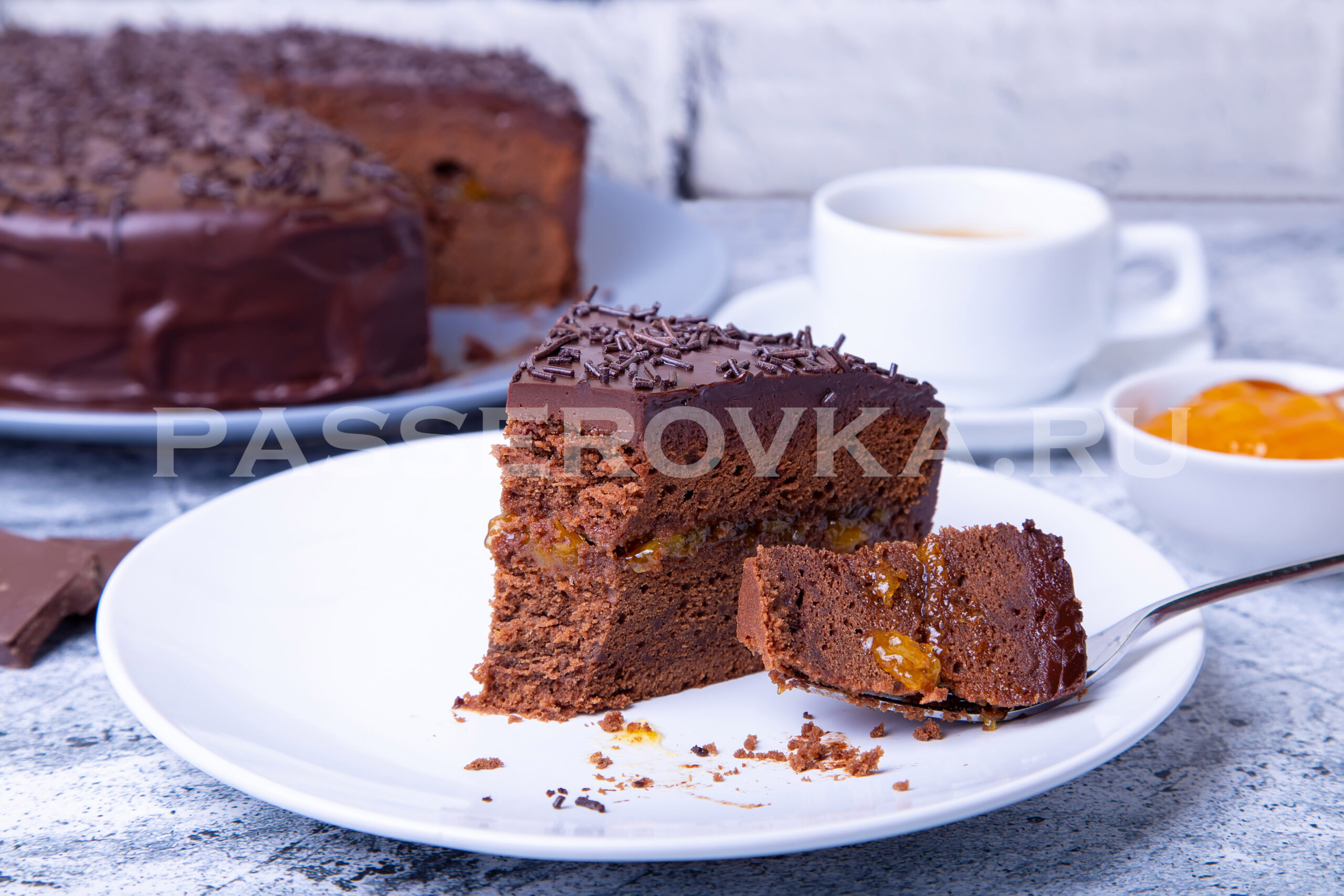 Захер торт рецепт пошагово