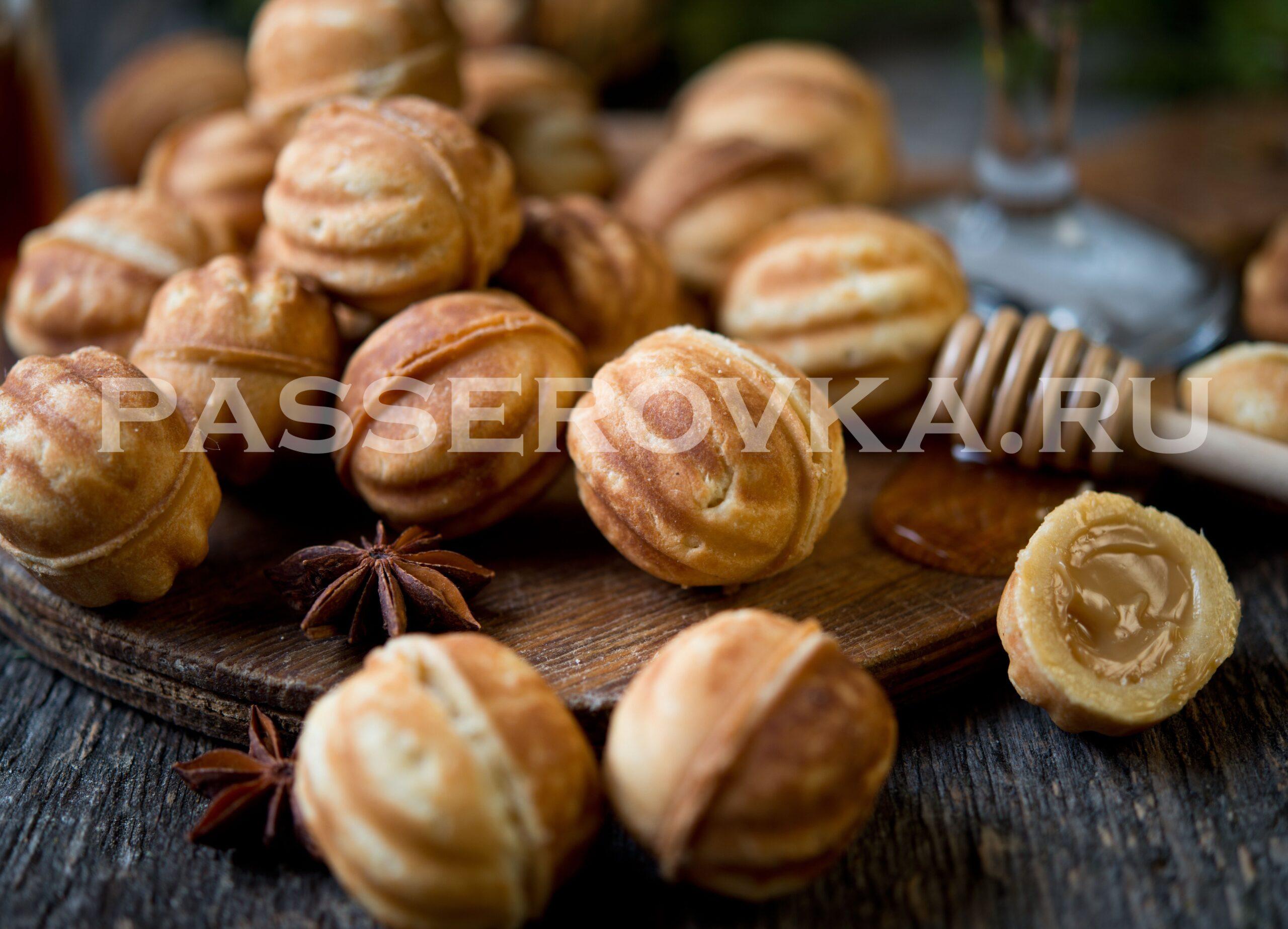 Орешки со сгущёнкой рецепт в орешнице классический рецепт