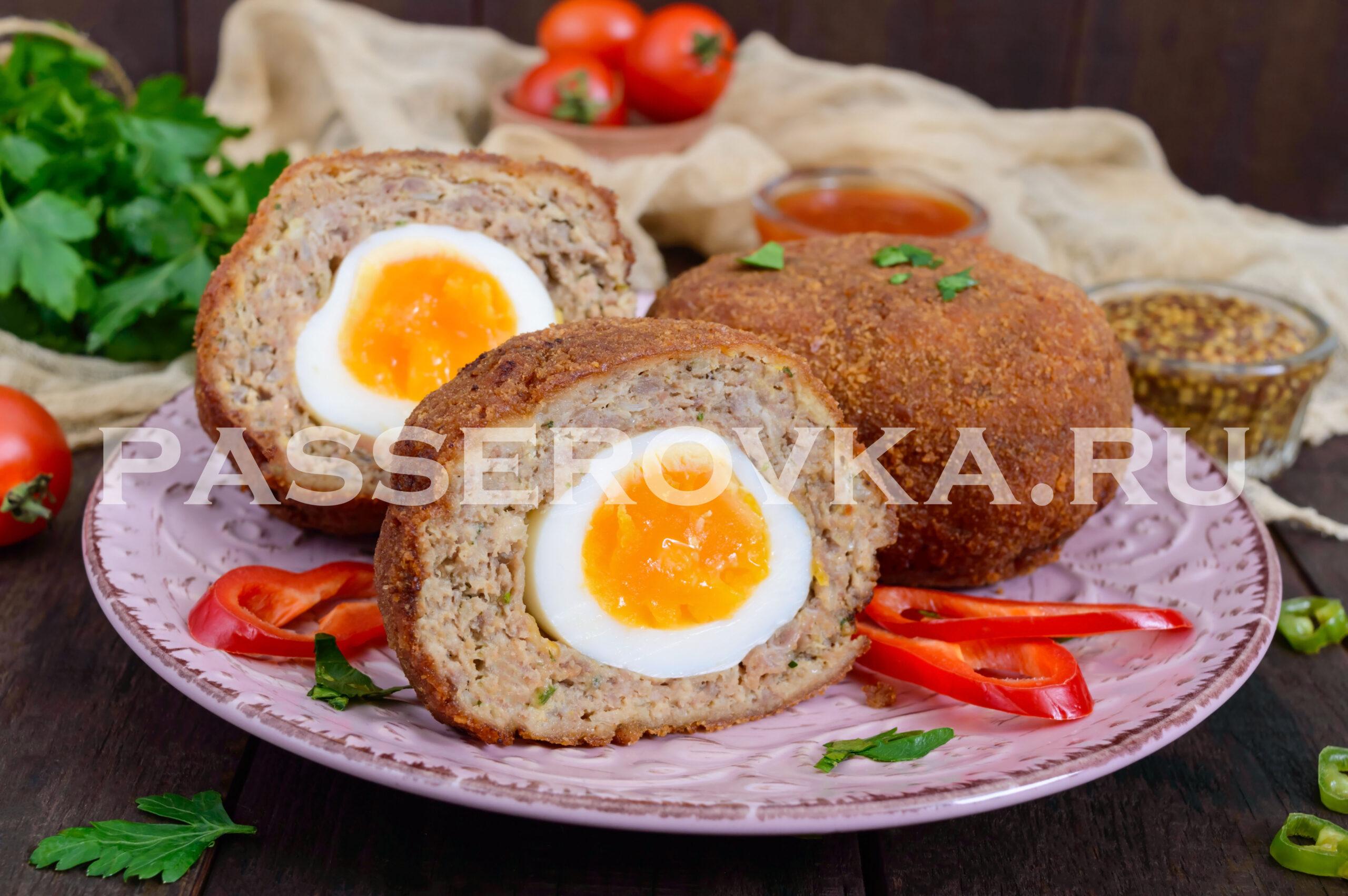 Яйца по-шотландски рецепт с фото